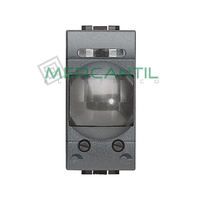 Interruptor de Rayos Infrarrojos Pasivos 1 Modulo Living Light BTICINO Antracita