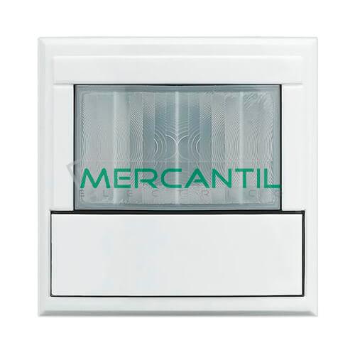 Detector de Movimiento por Infrarrojo Pasivo con Sensor de Luminosidad 2 Modulos Axolute BTICINO Blanco