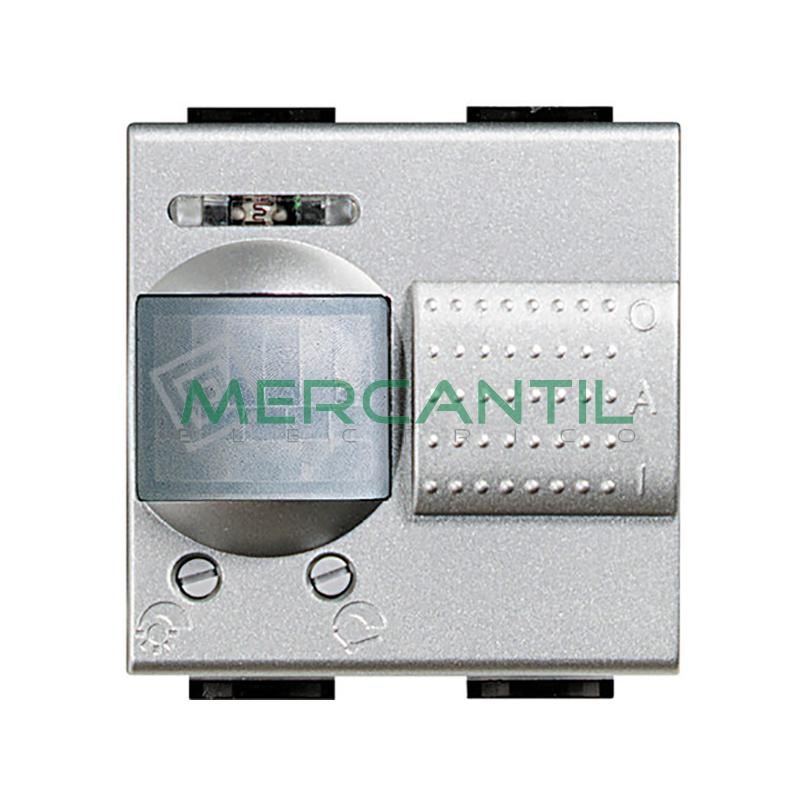 Interruptores de Rayos Infrarrojos Pasivos 2 Modulos Living Light BTICINO Tech