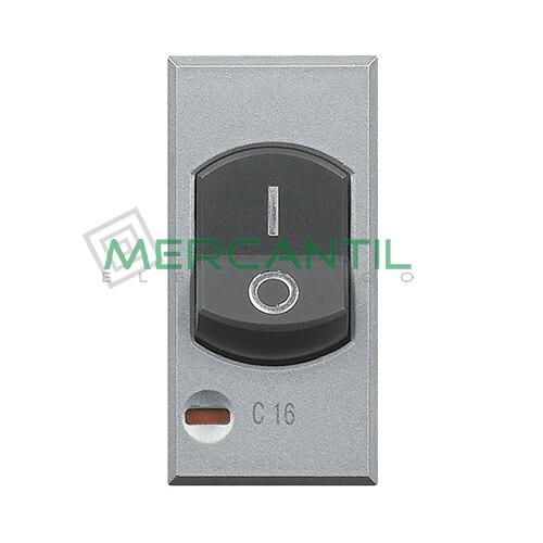 Interruptor Magnetotermico 16A 3kA 1 Modulo Axolute BTICINO 16A Tech