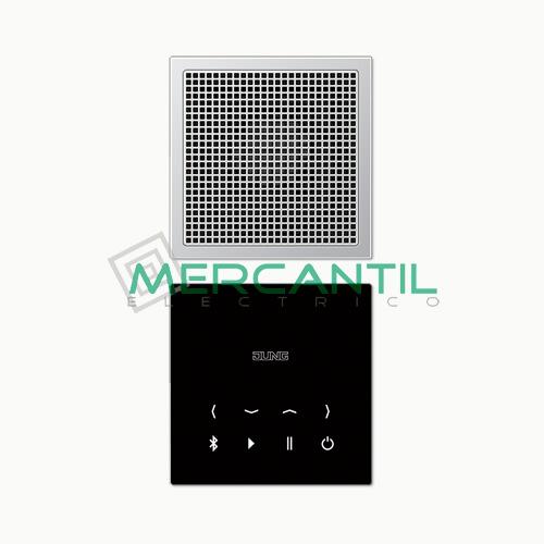 Kit Mono Bluetooth Connect con Display LS990 JUNG Aluminio