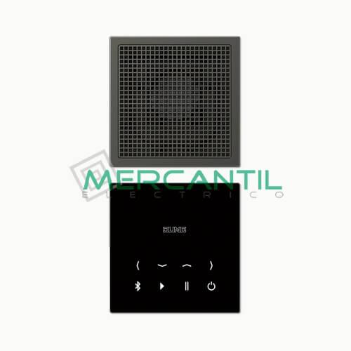 Kit Mono Bluetooth Connect con Display LS990 JUNG Antracita