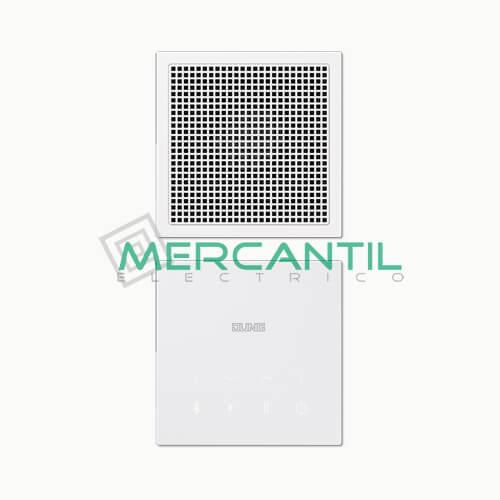 Kit Mono Bluetooth Connect con Display LS990 JUNG Blanco Alpino