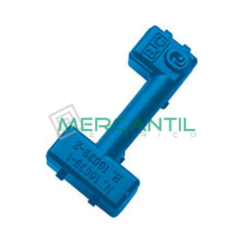 Señalizador LED para Mecanismos BJC VIVA - Color Azul Azul Bipolares, Unipolares y Bipolares de Control