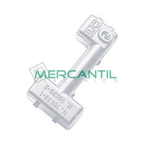 Señalizador LED para Mecanismos BJC VIVA - Color Azul Azul Interruptor unipolar, Conmutador, Cruzamiento y Pulsador