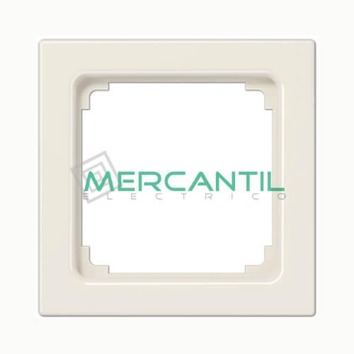 Marco Intermedio para Mecanismos 50x50 LS990 JUNG 1 Elemento Blanco Marfil