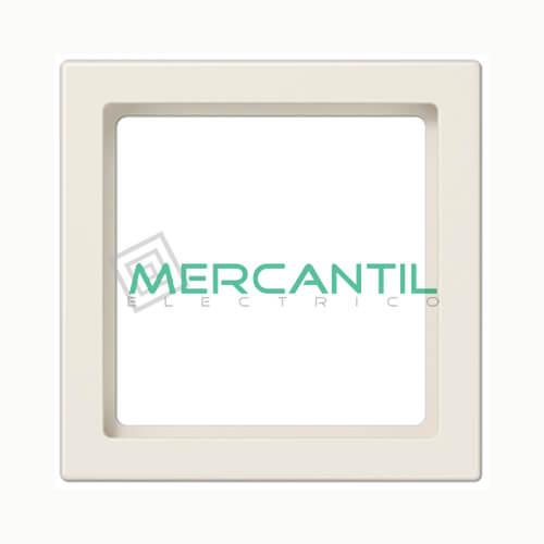Marco Intermedio 55x55 LS990 JUNG 1 Elemento Blanco Marfil
