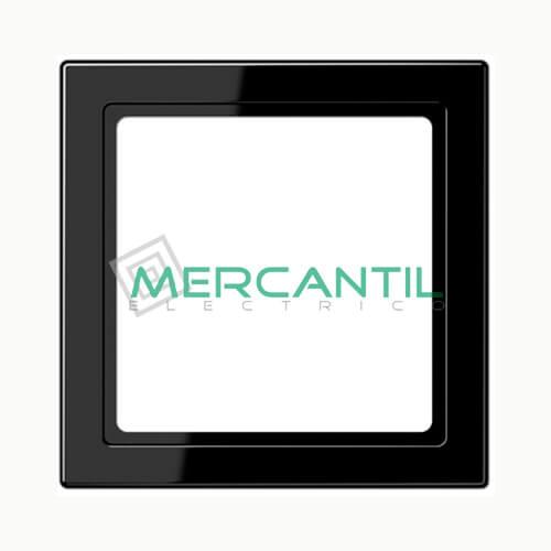 Marco Intermedio 55x55 LS990 JUNG 1 Elemento Negro