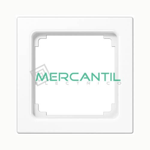 Marco Intermedio para Mecanismos 50x50 LS990 JUNG 1 Elemento Blanco Alpino
