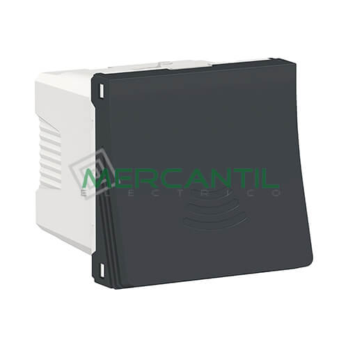 Zumbador 250V 2 Modulos New Unica SCHNEIDER ELECTRIC Antracita