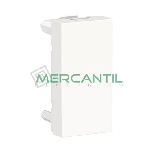 Tapa Ciega 1 Modulo New Unica SCHNEIDER ELECTRIC Blanco