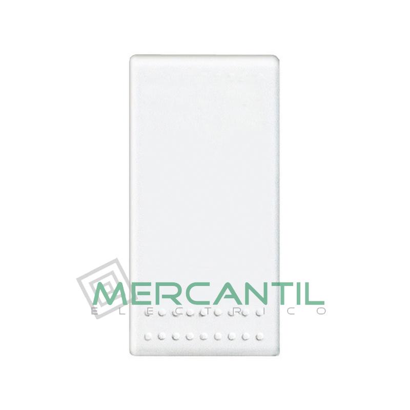 Pulsador Iluminable Contacto NC Living Light BTICINO Blanco