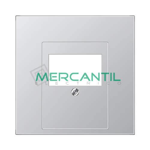 Placa para USB/KNX LS990 JUNG Aluminio