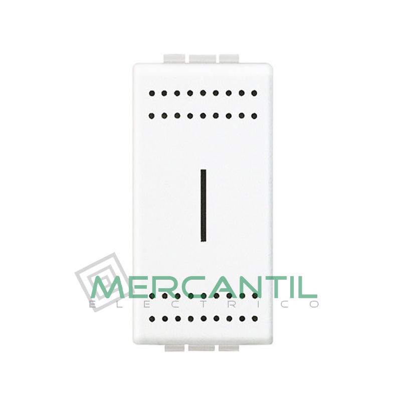Portafusible para 10A 1 Modulo Living Light BTICINO Blanco
