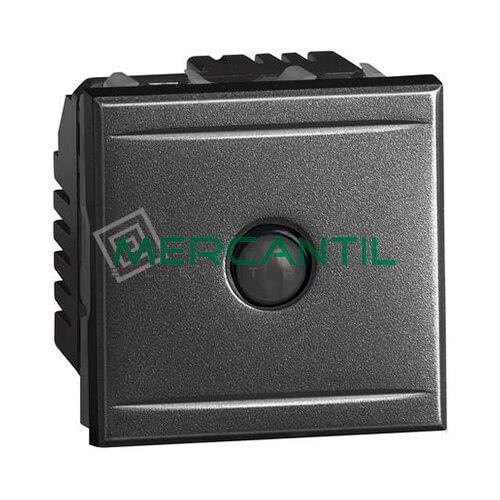 Conmutador con Sensor IR Energy Saving Axolute BTICINO Antracita