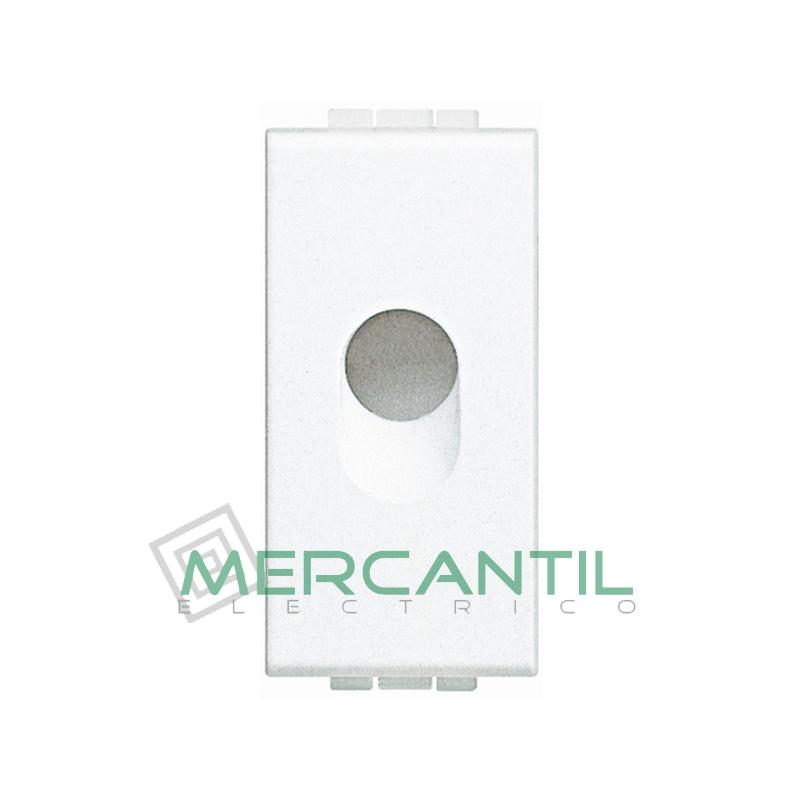 Salida de Cables 1 Modulo Living Light BTICINO Blanco