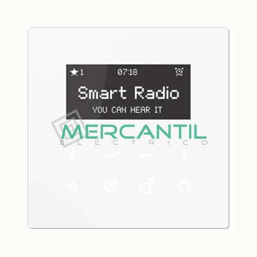 Smart Radio con Display LS990 JUNG Blanco Alpino