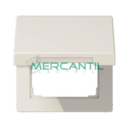Tapa Abatible para Marcos 50x50 LS990 JUNG 1 Elemento Blanco Marfil