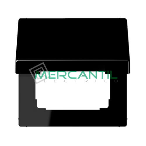 Tapa Abatible para Marcos 50x50 LS990 JUNG 1 Elemento Negro