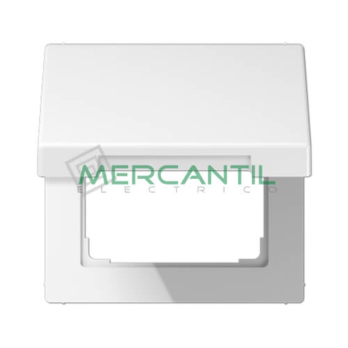 Tapa Abatible para Marcos 50x50 LS990 JUNG 1 Elemento Blanco Alpino