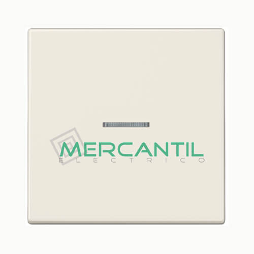 Tecla con Visor para Mecanismos Simples LS990 JUNG Blanco Marfil