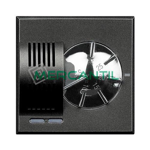 Termostato Ambiente Electronico 2 Modulos Axolute BTICINO Antracita