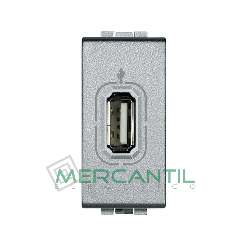Base USB 1 Modulo Living Light BTICINO Tech
