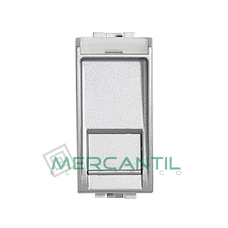 Base RJ45 UTP Categoria 5E 1 Modulo Living Light BTICINO Tech