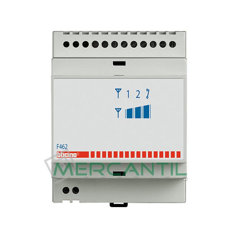 Actuador Telefonico GSM 4 Modulos DIN Living Light BTICINO