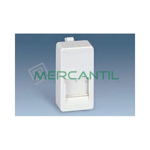 Adaptador Informatico Estrecho AMP UTP/FTP/Telefono SIMON 27 Play - 1 Conector