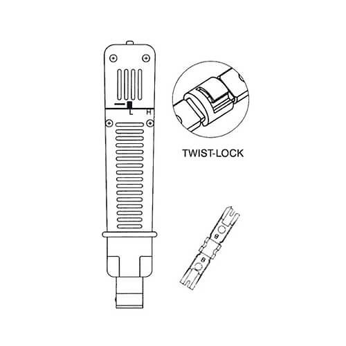 Alicate de Impacto para Terminales Tipo 110 DIGITUS