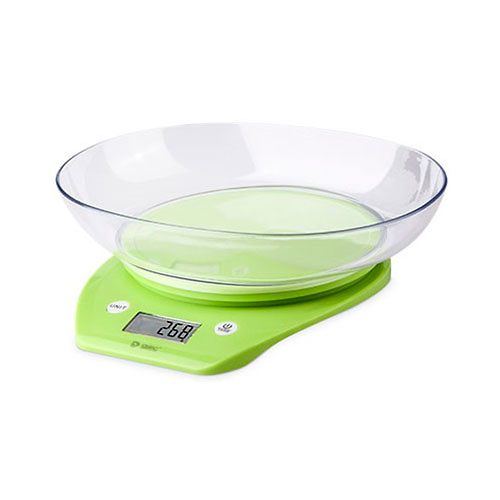 Bascula de cocina 4 sensores de alta precision pantalla LCD 40x18mm GSC