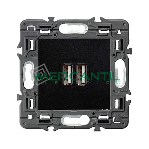 base-cargador-usb-doble-tipo-a-a-dark-valena-next-legrand-741431