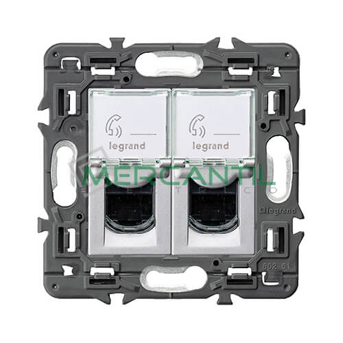 base-doble-rj45-utp-cat6-aluminio-valena-next-legrand-741376