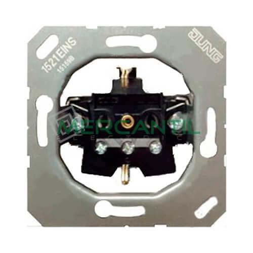 Base de Enchufe Bipolar Schuko LS990 JUNG - Embornamiento Automatico