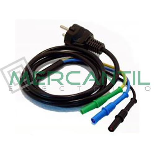 Cable Schuko 3 Terminales C2033X HT INSTRUMENTS