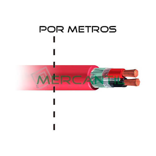 Cable para deteccion de incendios z1oz1 k as 500v for Espejo de 1 metro por 2 metros