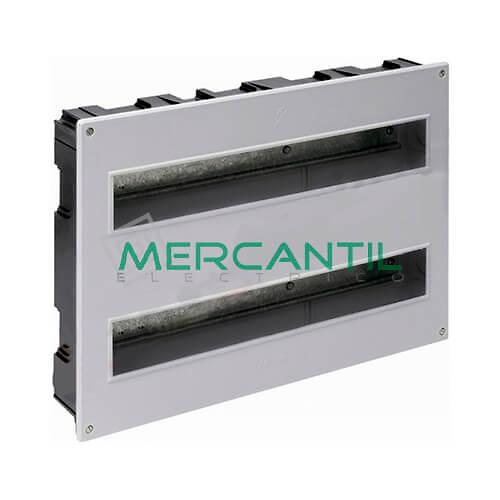 Caja Distribución Empotrar hasta 38 Elementos 410x270x68 SOLERA