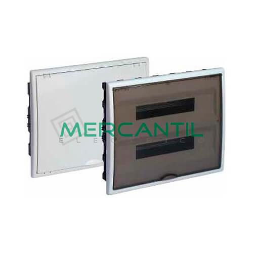 Caja Distribución Empotrar hasta 40 Elementos 400x320x72 SOLERA