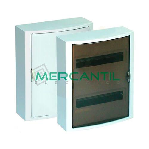 Caja Distribución Superficie hasta 28 Elementos 362x438x104 SOLERA