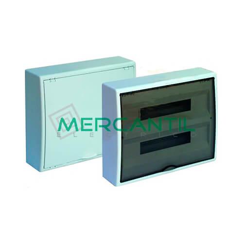 Caja Distribución Superficie hasta 40 Elementos 423x353x104 SOLERA