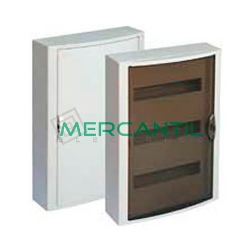 Caja Distribución Superficie hasta 42 Elementos 362x544x104 SOLERA