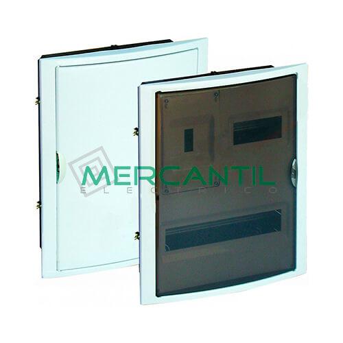 Caja ICP Empotrar de 1 a 4 Elementos 40A y Distribución hasta 20 Elementos 320x420x75 SOLERA