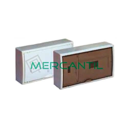 Caja ICP Superficie de 1 a 4 Elementos 40A y Distribución hasta 12 Elementos 407x247x104 SOLERA