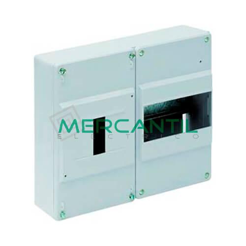 Caja ICP Superficie de 1 a 4 Elementos 40A y Distribución hasta 6 Elementos 235x188x55 SOLERA