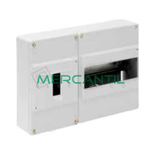 Caja ICP Superficie de 1 a 4 Elementos 40A y Distribución hasta 8 Elementos 277x188x55 SOLERA