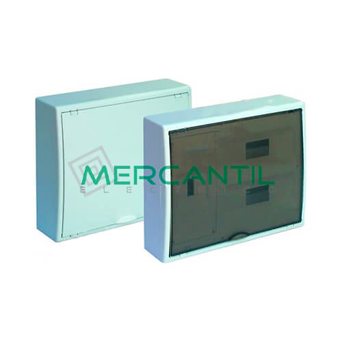 Caja ICP Superficie de 1 a 4 Elementos 63A y Distribución hasta 24 Elementos 423x353x104 SOLERA