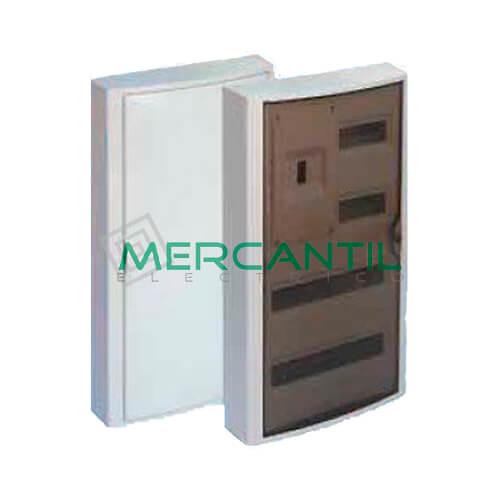 Caja ICP Superficie de 1 a 4 Elementos 63A y Distribución hasta 40 Elementos 362x686x104 SOLERA