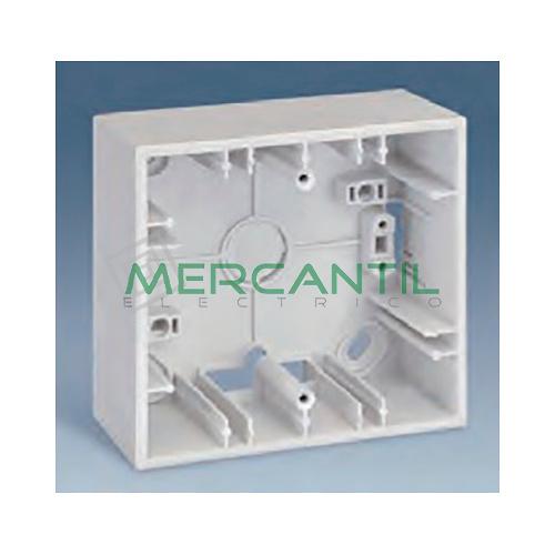 Caja de Superficie 3 Elementos 86x235x37mm SIMON 27 Play