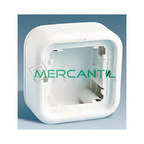 Caja de Superficie Alta de 1 Elemento SIMON 31 - 86x86x46.5mm
